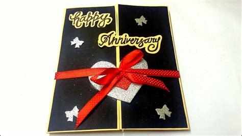 beautiful anniversary card idea