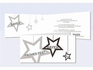 Text Für Weihnachtskarten Geschäftlich : firmen weihnachtskarte namensstern in braun ~ Frokenaadalensverden.com Haus und Dekorationen