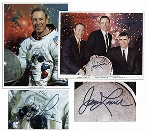 Lot Detail - Pair of James Lovell 8'' x 10'' Photos Signed ...