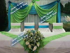 lime green and turquoise wedding | ... Events (Weddings ...