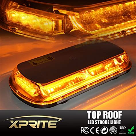 lights on top of truck xprite yellow 44 led high intensity enforcement