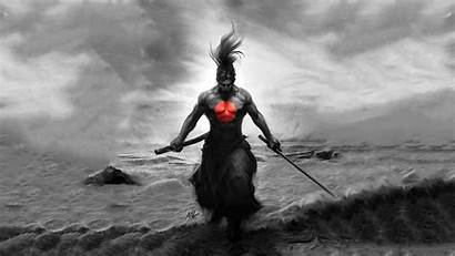 Samurai Epic Mix Way Warrior Artwork Japan