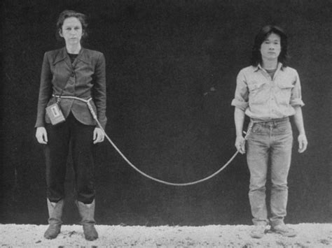 Tehching Hsieh Linda Montano Spent One Year Tied