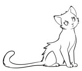 cat sketches simple cat drawings clipart best