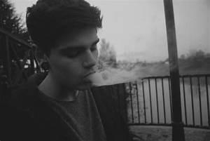 hot guy smoking on Tumblr