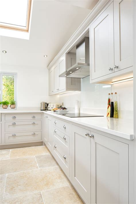 maple gray white grey shaker kitchen