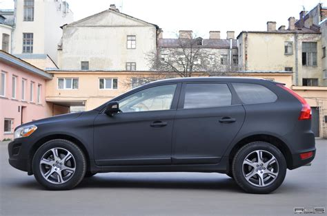 volvo xc60 black matte black volvo xc60 in russia