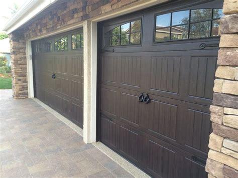 Dalton Garage Door by Wayne Dalton 8300 Walnut Sonoma Panel Home