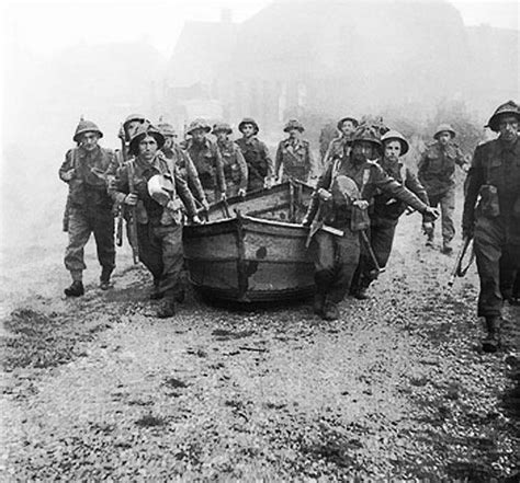 Goatley Boat by Photo Infantry Carrying Assault Boats In