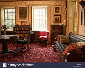 Old, Fashioned, Living, Room, Stock, Photo