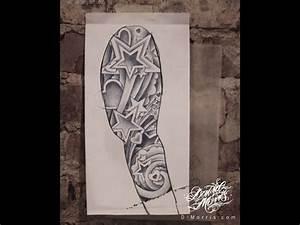 star cloud tattoo | 8572--tattoo-illustration-and-design ...