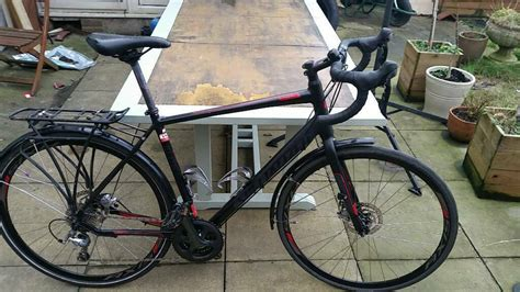 Specialized Sirrus Elite Disc (black + Red) (58cm) Touring