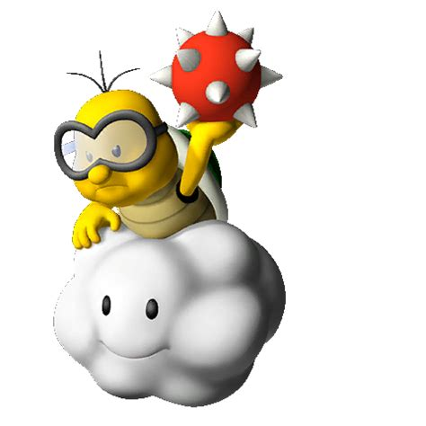 Image - MP9 Lakitu Bust.png - Fantendo, the Video Game ...