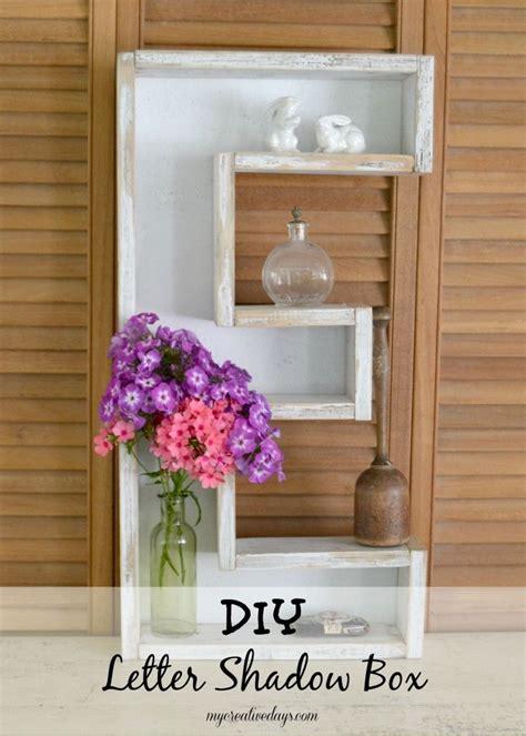 diy letter shadow box diy letters diy home decor diy furniture
