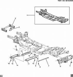 Chevrolet Trailblazer Frame  Chassis  Frame  Frt Half  Framefrt