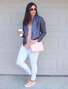 Pink Leather Jacket Outfit Ideas
