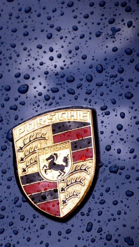 porsche logo wallpaper  iphone wallpapers