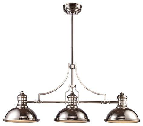 3 light pendant light landmark lighting chadwick 3 light billiard island light