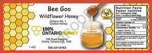 custom honey jar labels innisfil creek honey With design your own honey jar labels