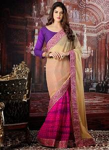 Pakistani and Indian Party Wear Sarees 2018 BestStylo