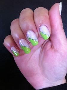 French Manucure Couleur : ongle en gel vert pomme ~ Nature-et-papiers.com Idées de Décoration