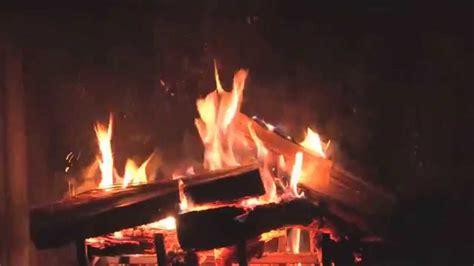 kaminfeuer lodernde flammen zur entspannung youtube
