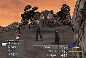 Final Fantasy VIII FF8 Screenshots The Final Fantasy