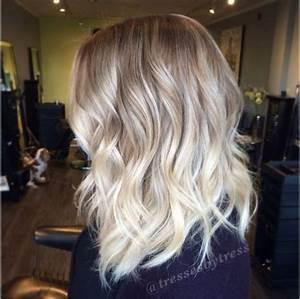 Ombré Hair Blond Foncé : balayage blond blanc ~ Nature-et-papiers.com Idées de Décoration