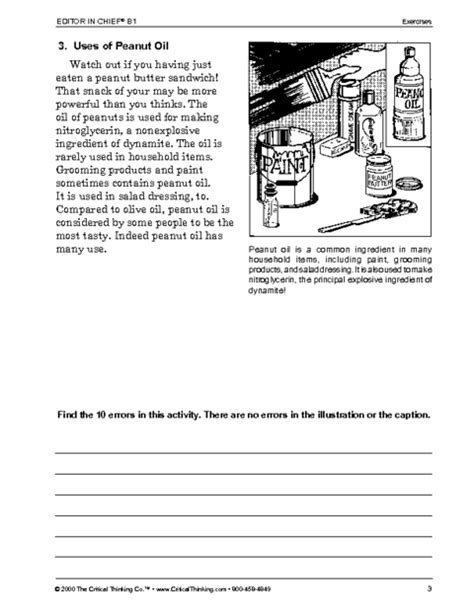 critical thinking worksheet grades 6 8 editor in chief education world