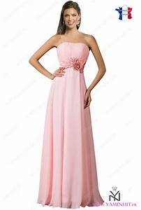 robe temoin de mariage rose pale With robe rose pale longue