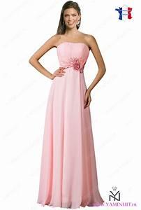 Robe Pour Temoin De Mariage : robe temoin de mariage rose pale ~ Melissatoandfro.com Idées de Décoration