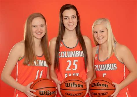 columbus east high school girls varsity basketball winter