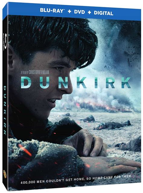 Dunkirk Bluray, 4k And Dvd Release Details Seat42f