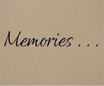 Memories Wall Decal Phrases Detailed Tradingphrases