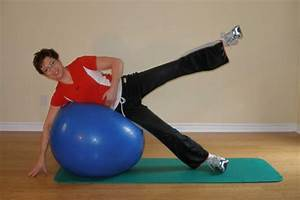 Beginner Exercise Ball Workout
