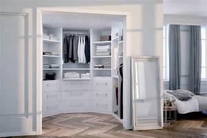 Chambre Dressing : dressing boudoir sur mesure archea ~ Voncanada.com Idées de Décoration