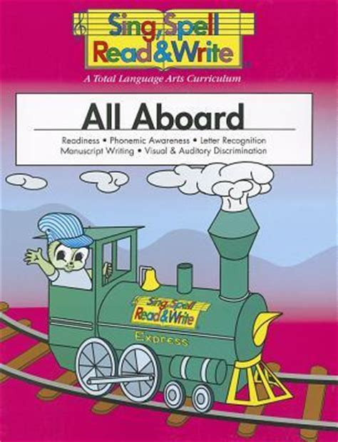 all aboard student edition sing spell read and write 209 | 9781567046038