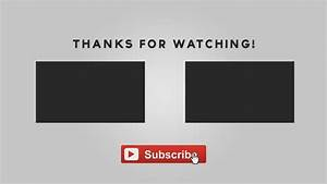 Free graphics after effects animated outro template with tutorial yllibzify youtube for Outro image