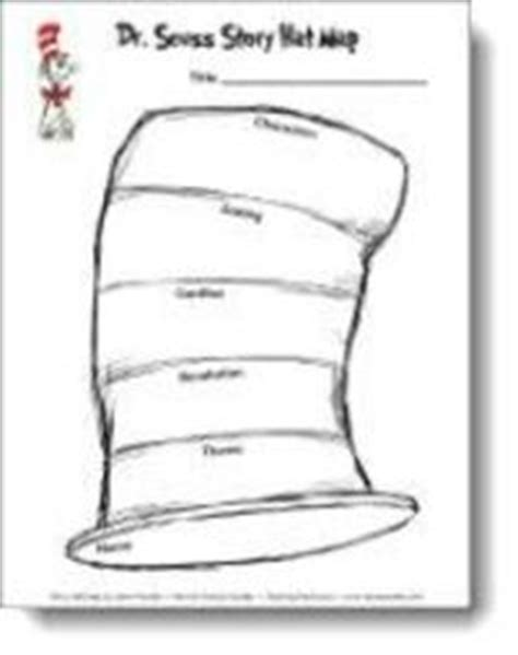 cat in the hat hat template cat in the hat story map pattern from candler s te school planning juxtapost