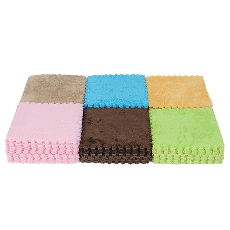 Floor Foam Mats For Babies by 9pcs Interlocking Foam Puzzle Floor Mats Tile Play Mat