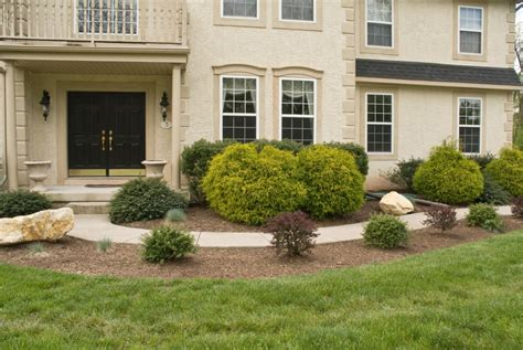 landscaping front of house montgomery county landscaping sycamore landscaping inc