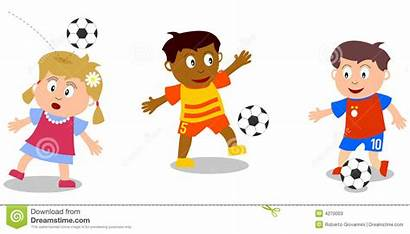 Playing Soccer Clipart Friends Sports Background Clip