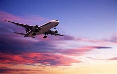 Plane Beach Sunset Airplane Flight Flights Jet