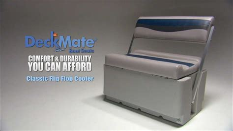 Boat Cooler With Seat by Deckmate Classic Pontoon Flip Flop Cooler Seats