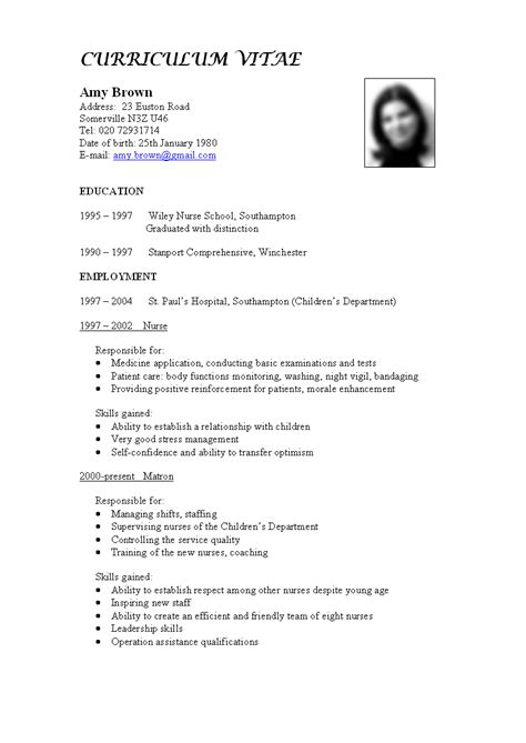 How To Make Best Cv by What To Include In A Cv