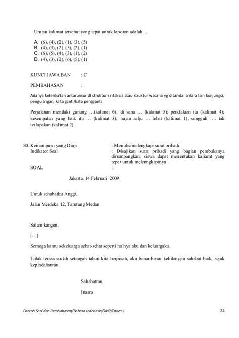 Contoh Surat Gugatan Sederhana - Surat 35