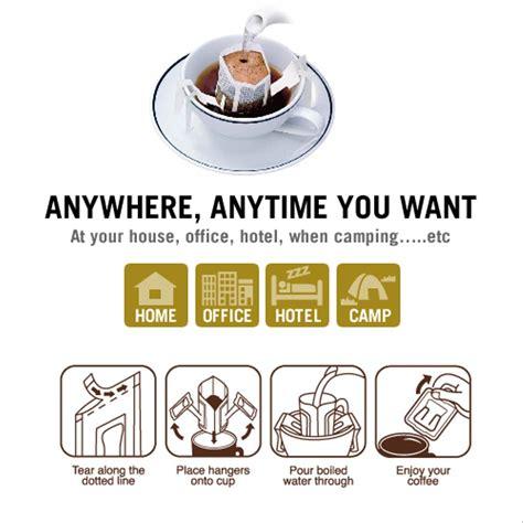 How to make drip coffee. Jual Kopi Drip (Drip Bag Coffee) Premium Mr. Kopie 100% Kopi Arabica di lapak Franky Leisan dr1ft_k
