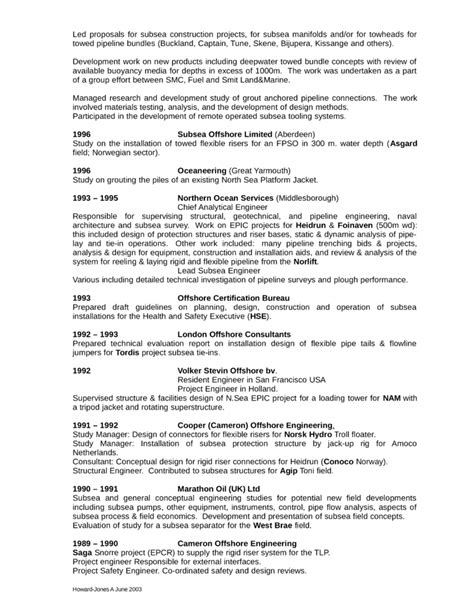 Chronological Resume Engineer by Chronological General Engineer Resume Template Page 3