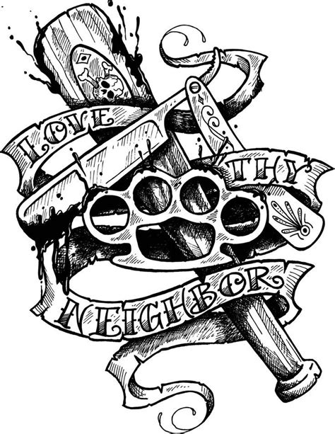 27 best Cartoon Gangster Tattoo Designs images on