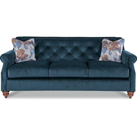 Sofa Mart Utah by La Z Boy Aberdeen Traditional Sofa With Tufted Seatback